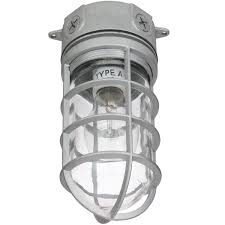 Jelly Jar Light With Cage by Sunlite Fixtures Led Vaporproof 04900 Su Vt100