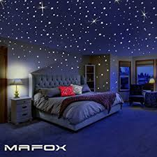Amazon MAFOX Glow in the Dark Stars for Ceiling or Wall