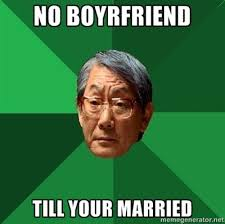 Angry Boyfriend Meme - angry asian dad