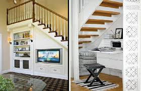 creative storage space under stairs design ideas familyroom loft