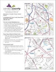Camden County Maps Camden County Animal Shelter About Us Address U0026 Directions