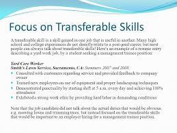 transferable skills resume resumesample csat co
