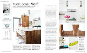 interior home magazine modern kitchen island lighting inside style at home magazine