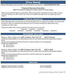 Venture Capital Resume Free 40 Top Professional Resume Templates