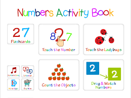 kindergarten activity book for numbers learning u0026 recognition