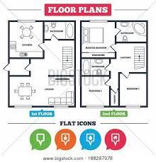Home Design Plans Map Architecture Plan Furniture House Vector U0026 Photo Bigstock