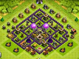 layout coc town hall level 7 best house design in the world luxury bungalow plans clash of clans