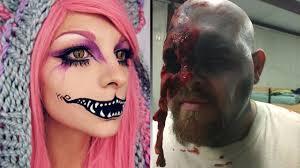 50 creepiest halloween makeup ideas youtube