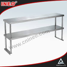 Stainless Steel Kitchen Table Top Commercial Restaurant Table Top Stainless Steel Shelving Ineo Are