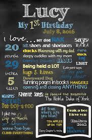 birthday chalkboard birthday chalkboard template free for baby s 1st birthday
