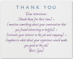 best photos of thank you note after interview thank you letter