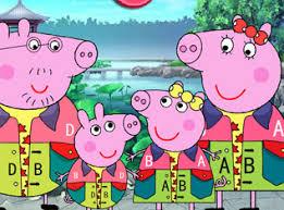 peppa pig games kizi games