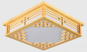 Japanese Ceiling Light Japanese Ceiling Lights Square 45 55cm Bedroom Led Ls Lights