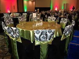 black banquet chair covers wedding black chair covers black and white damask chair c flickr