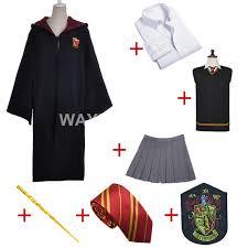 Aliexpress Buy Gryffindor Uniform Hermione Granger Cosplay
