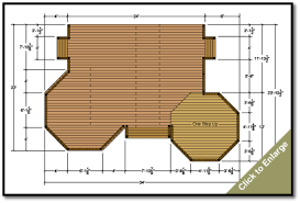 deck plans deck designs and plans custom deck plans montana my style