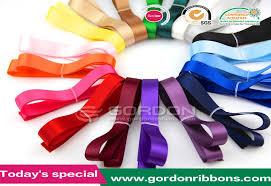 bulk satin ribbon 9mm solid color satin riboon satin lanyard sateen fabric bulk