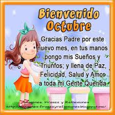 imagenes feliz octubre imágenes hermosas y lindas palabras para darle la bienvenida al mes