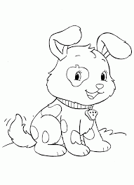 animal puppy pictures to colour in kids dog sheets fairy