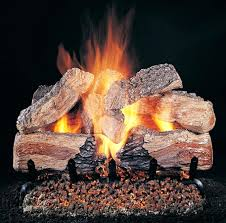 propane fireplace glowing embers napoleon natural gas ember blue