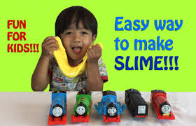how to make slime easy science experiments for with