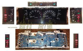 1985 toyota pickup instrument cluster wiring diagram 1985 toyota