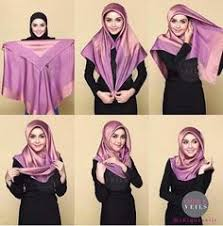 tutorial hijab turban untuk santai tudung health and beauty pinterest tutorials hijabs and muslim
