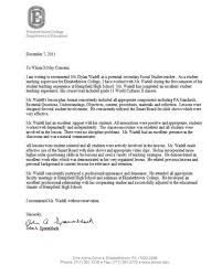 brilliant ideas of letter of recommendation sample for student