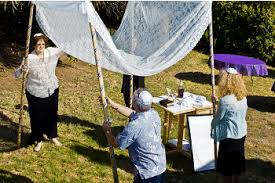 How To Make A Chuppah Chuppah