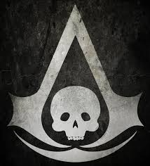 Black White Black Flag Learn How To Draw The Assassins Creed Black Flag Logo Band Logos
