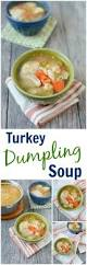 after thanksgiving turkey recipes turkey dumpling soup