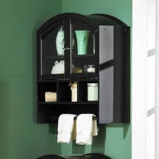 over the toilet cabinet wall mount arch top wall mount over toilet cabinet black for the new place