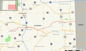 Colorado Cities Map by Colorado State Highway 96 Wikipedia