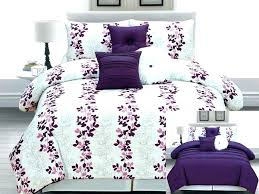 Purple Bedding For Cribs Teal And Purple Comforter Set