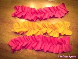ruffled ribbon craftionary