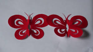 paper cutting series 02 butterflies by qian