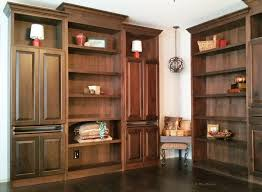 Custom Home Office Cabinets In Custom Built In Cabinet Services Around Louisville Ky