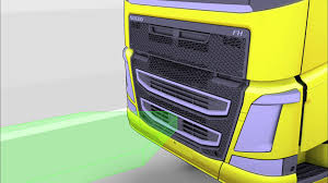 volvo truck corporation volvo trucks adaptive cruise control keeps safe distance youtube