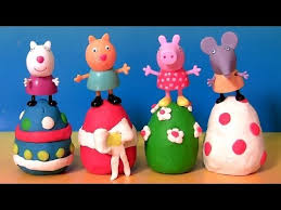 Decorating Eggs How To Play Doh Peppa Pig Easter Eggs Surprise Decorating W Susy