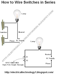 series wiring diagram series wiring diagrams collection