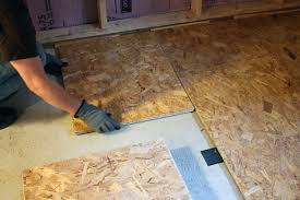 Basement Subfloor Systems - basement progress electrical subfloor chezerbey