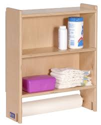 Paper Table L Ang1110 Changing Table With Paper Roll Holder L Affordable Storage