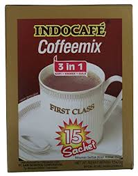 indocafe coffeemix 3 in 1 class 15 sachets per