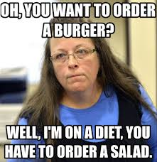 Same Sex Marriage Meme - kentucky clerk gets jail time for failing to issue same sex