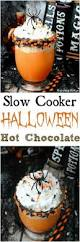 slow cooker halloween chocolate halloween pinterest