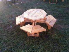 Free Large Octagon Picnic Table Plans Easy Woodworking Solutions by Large Octagon Picnic Table Plans Woodworking Pinterest