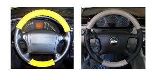corvette steering wheel cover chevy leather steering wheel cover free sles
