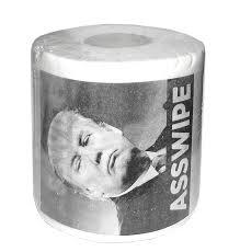 amazon com donald trump asswipe printed toilet paper roll toys