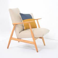 1950s Armchair Petit Reupholstered 1950 U0027s Armchair 60757