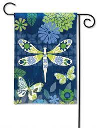 capistrano dragonfly garden flag studio m magnet works breezeart